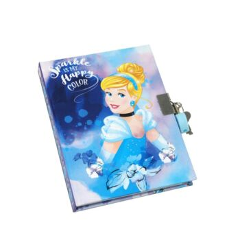 Cinderella Strawberry Scented Diary - Pack Size 2