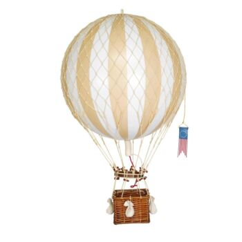 Authentic Models Royal Aero Hot Air Balloon Model - White/Ivory