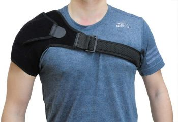 Shoulder Brace Rotator Cuff Compression Support Adjustable Belt Wrap