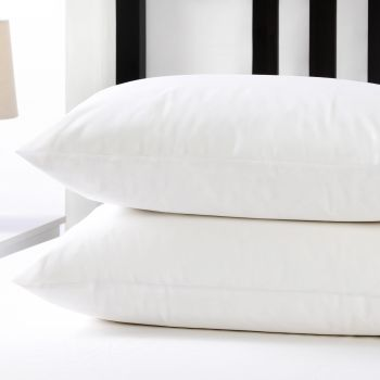 Dreamaker Non Woven Stain Resistant Pillow Protector 4 Pack