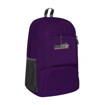 25L Waterproof FoldableTravel Backpack for Camping in Purple