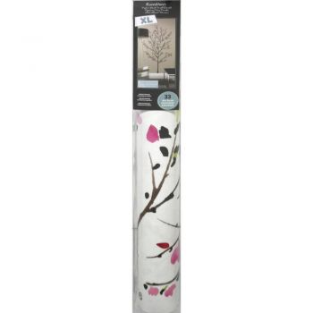 ROOMMATES Pink Blossom Tree Peel and Stick Giant Wall Decal