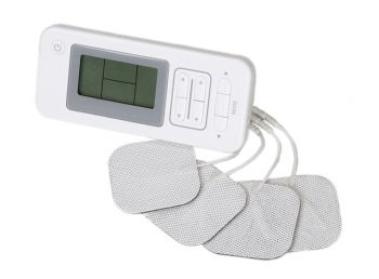 TENS handheld Electronic Pulse Massager Unit - Dual Channels