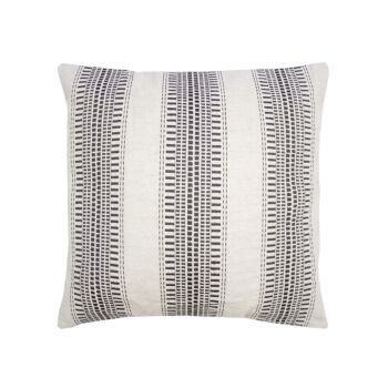 Frankland Square Cushion 45x45cm Charcoal
