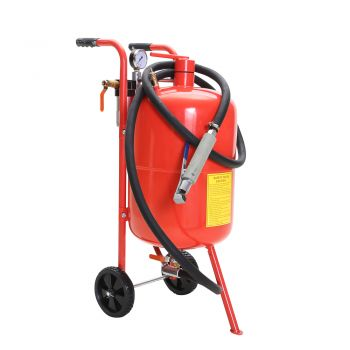 SandBlaster Air Sand Blaster 10 Gallon Portable Steel Heavy Duty Long Hose Tools