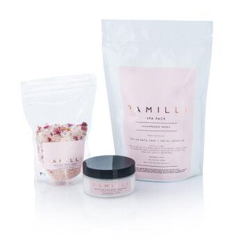 Pamilli Spa Pack  - Champagne Roses