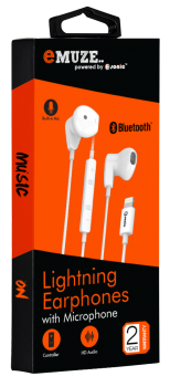 LIGHTNING EARPHONE WITH MIC