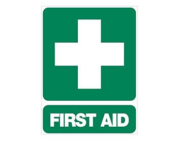 First Aid Sign 600 x 450mm