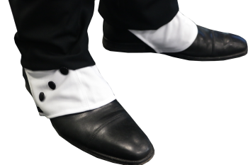 1920s Deluxe Gangster Shoe Spats
