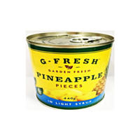 G-Fresh Can Pineapple Pieces L/S 440g