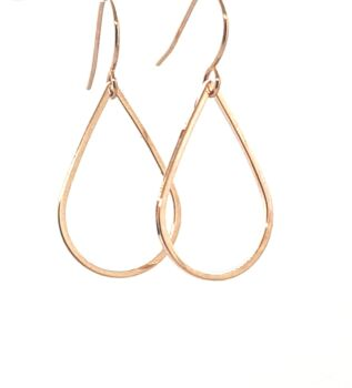The Alexis Rose Gold Tear Drop Dangles
