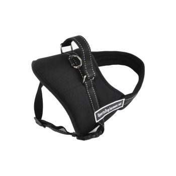 PaWz Pet Adjustable Harness Support Control Pulling Training XXL in Black