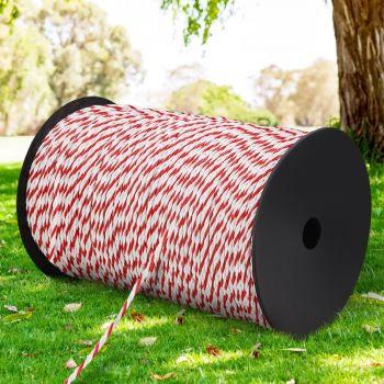 Giantz 500M Electric Fence Wire Tape Poly Stainless Steel Temporary Fencing Kit