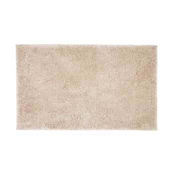 Microplush Large Bath Mat 50 x 80cm Buff