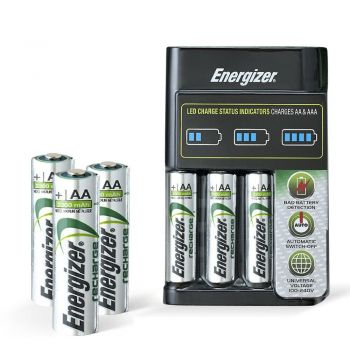 Energizer Rechargeable AA Battery 4 Set