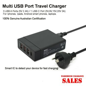 High Power 72W 4USB Charger Station