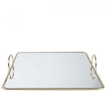 DENVER MIRROR TRAY 30 X 5CM