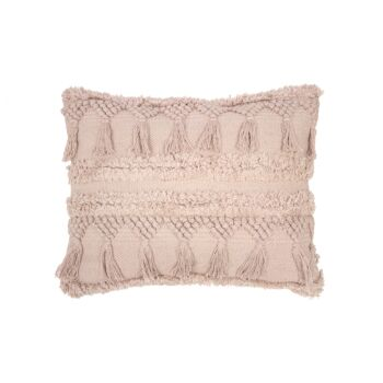Capel Rectangle Cushion 50x40cm Shell
