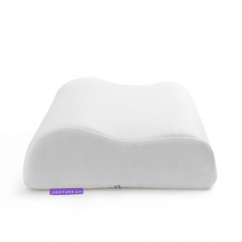 Contoured Pillow Neck Support Memory Foam in Lavender