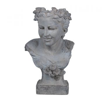 Neo Classical Female Bust Planter